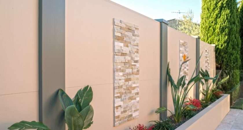 Backyard Feature Wall Ideas Outdoor Goods
