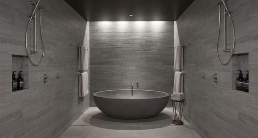Bathroom Concrete Cement Pinterest