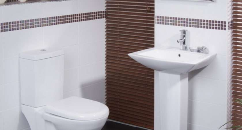 Bathroom Modern Colourful Straight Lines Dado Pattern Better Bathrooms