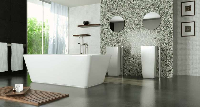 Bathroom Pinterest Modern Bathrooms Concrete