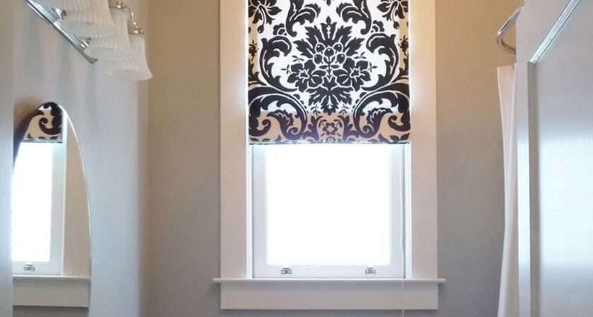 Bathroom Roman Shades Grasscloth