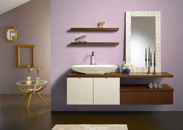 Bathroom Shelves Look More Stylish Think Inspired Home