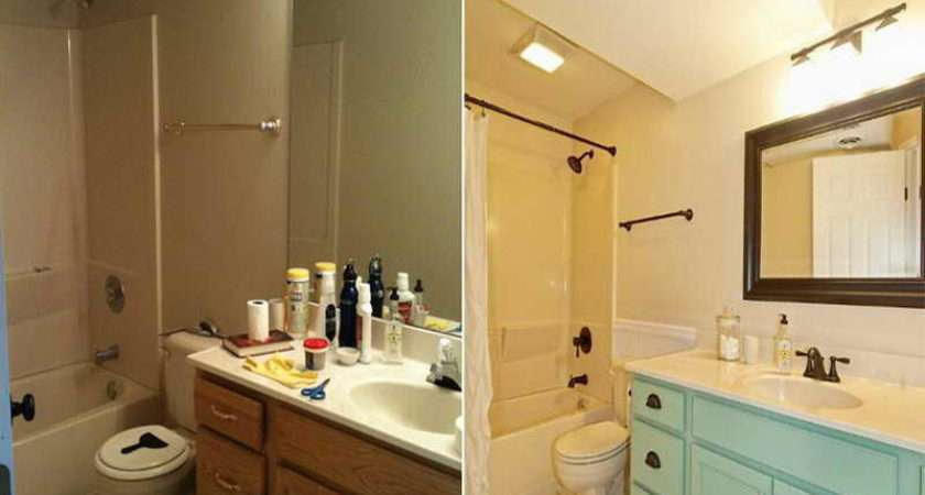 Bathroom Small Makeovers Budget