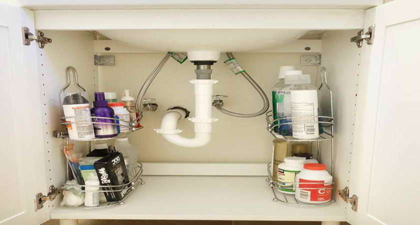 Bathroom Small Under Sink Storage Solutions