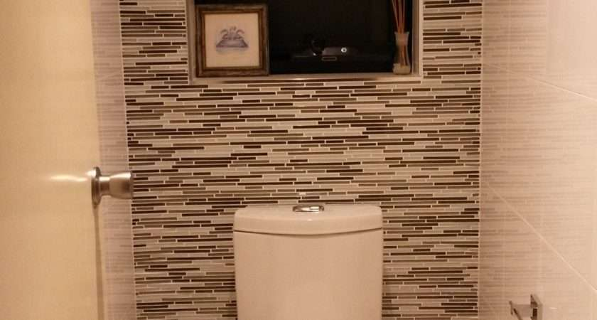 Bathroom Toilet Feature Tiles