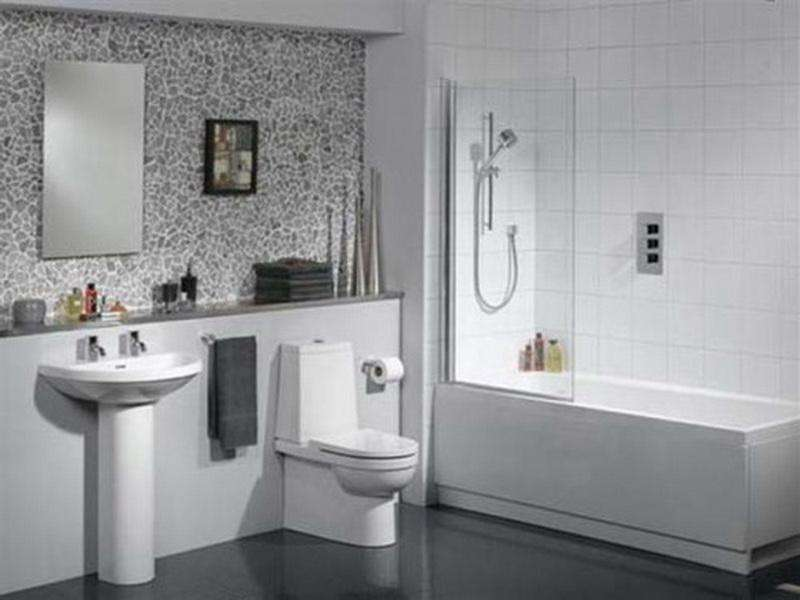 Bathrooms Tile White