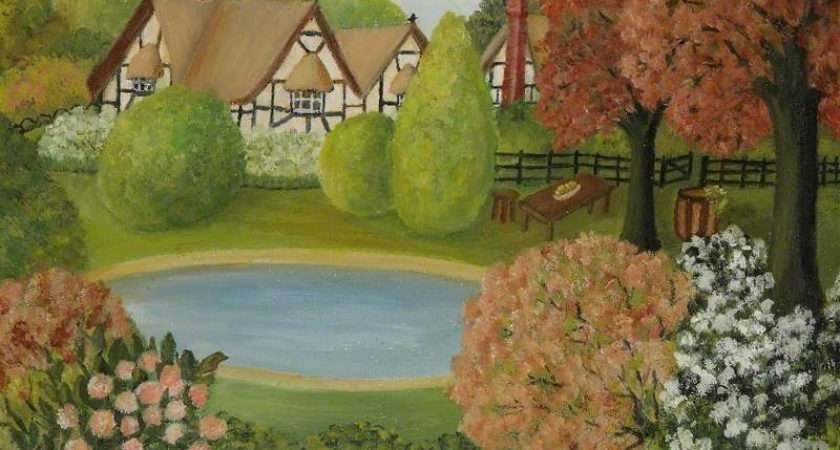 Bbc Your Paintings Country House British Style
