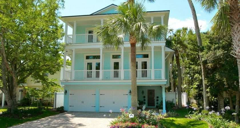 Beach House Exterior Color Schemes Beautiful Garden
