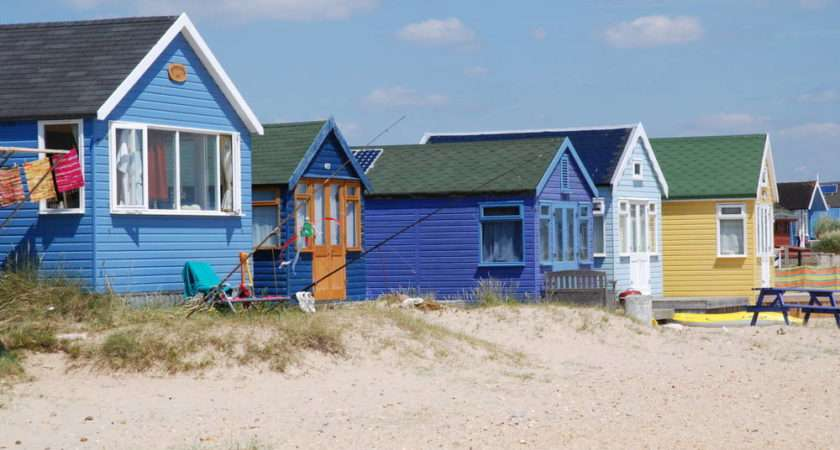 Beach Huts Bournemouth Dorset Pretty Much Only