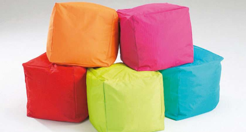 Bean Cubes Pack Ref Cube Shaped Bags