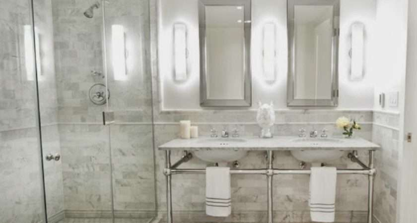 Beautiful Abodes Small Bathrooms Can Have Double Sinks