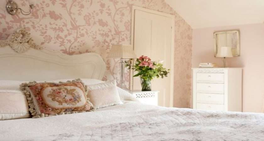 Beautiful Bedroom Country Floral Pink