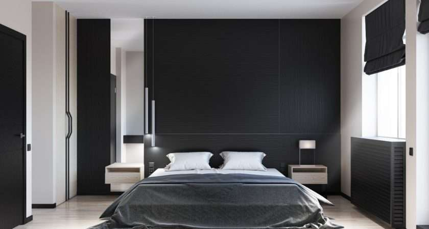 Beautiful Black White Bedroom Designs