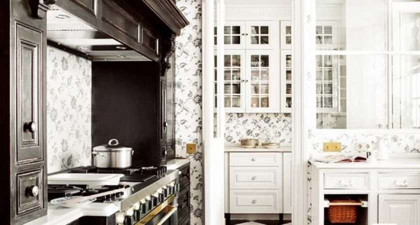 Beautiful Black White Kitchens Cottage Market
