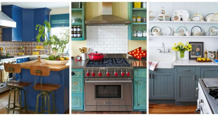 Beautiful Blue Kitchen Decorating Ideas Best