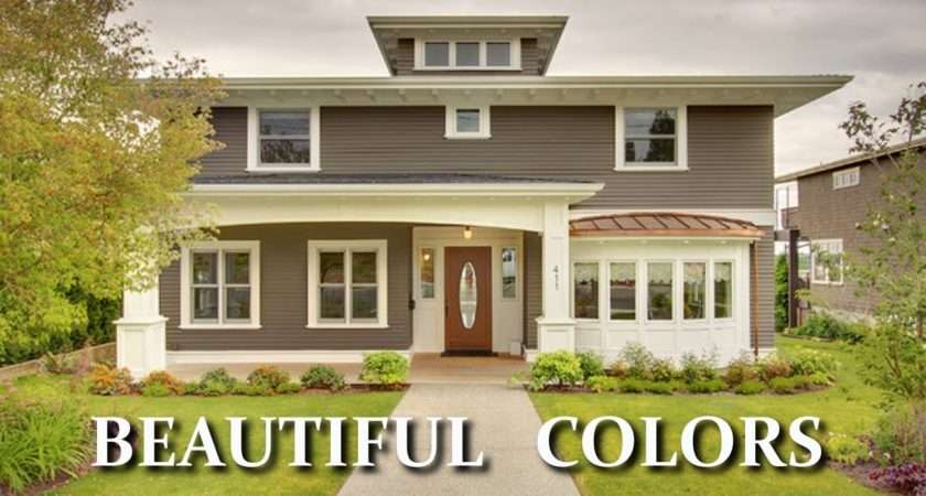 Beautiful Colors Exterior House Paint Choosing