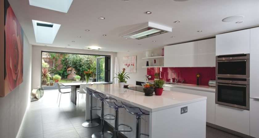 Beautiful Contemporary Kitchen Extension Project London