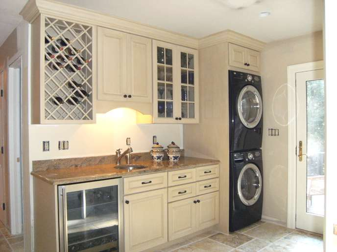 Beautiful Design Ideas Laundry Room Kitchen Hall