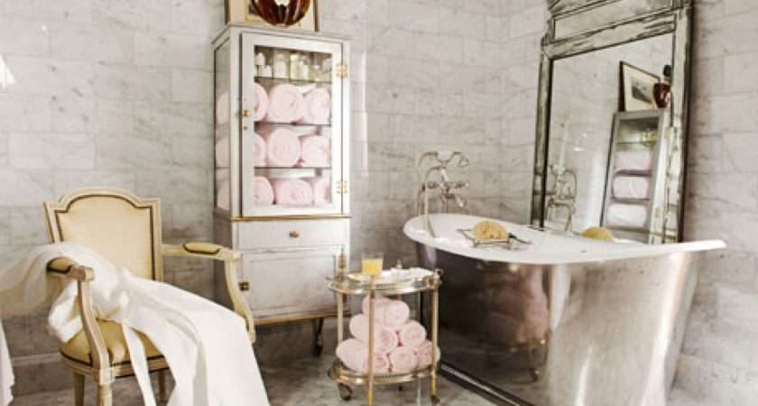 Beautiful French House Style Bathrooms Decor