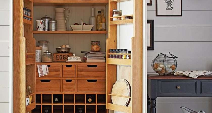 Beautiful Functional Standing Kitchen Larder