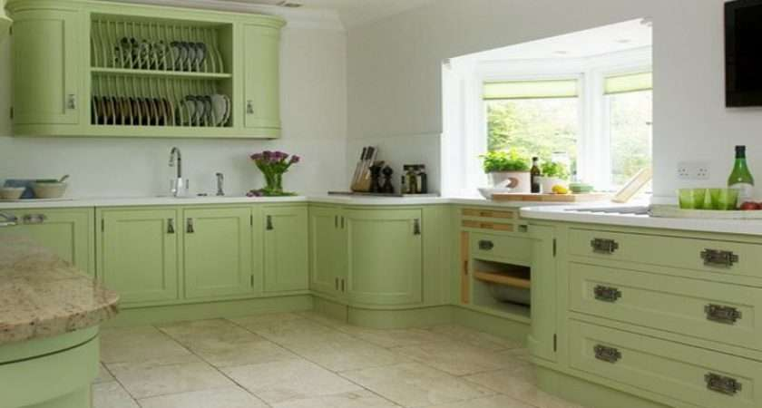 Beautiful Green Kitchen Design Ideas Interior