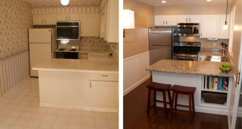 Beautiful Kitchen Remodel Budget Before After