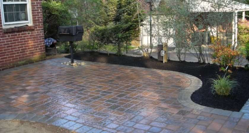 Beautiful Stunning Backyard Patio Designs Marble Floor Tile