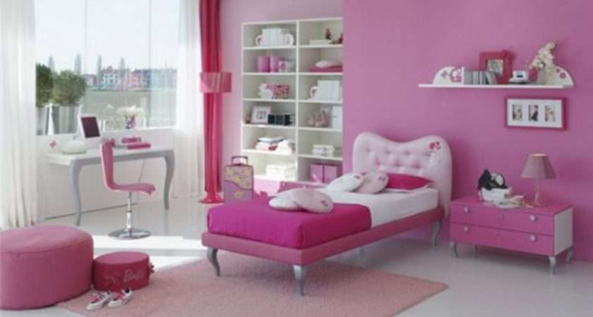 Beautiful Wall Colors Teenage Girls Bedrooms