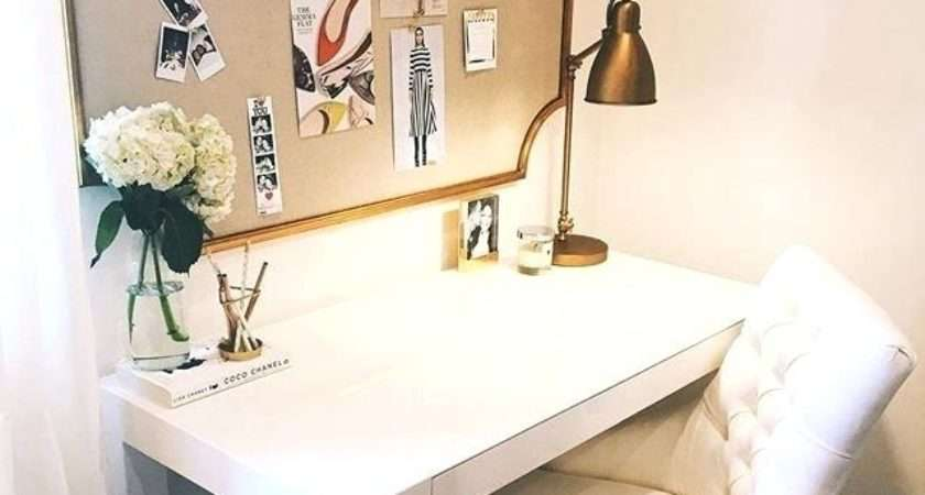 Beautiful White Desks Teens Girls Bedroom