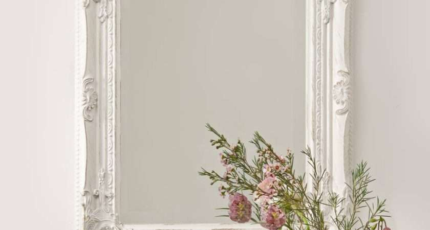 Beautifull Distressed Vintage Style Wall Mirror Hand
