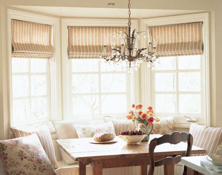 Beauty Fabric Window Treatments Easy Operation