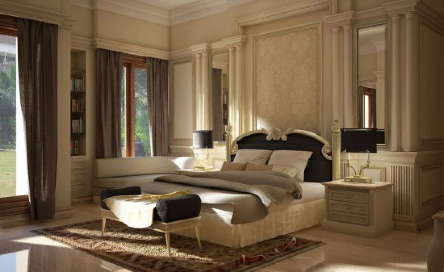 Bed Bedroom Color Ideas Colors