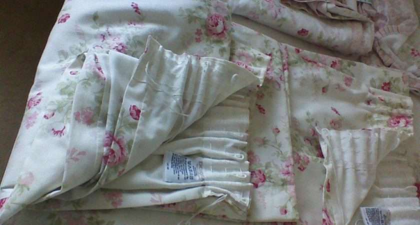 Bedding Pretty Floral Reversable Lined Curtains Dunelm Mill