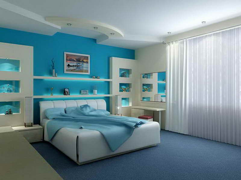 Bedroom Blue Paint Colors Warmth Ambiance Your Room