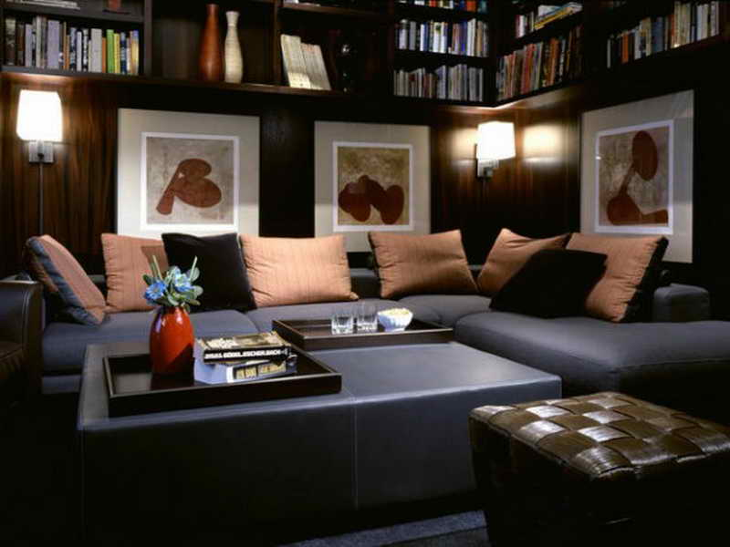 Bedroom Exotic Black Teenage Lounge Room Ideas