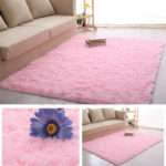 Bedroom Floor Mat Fluffy Blanket Nonslip Lounge