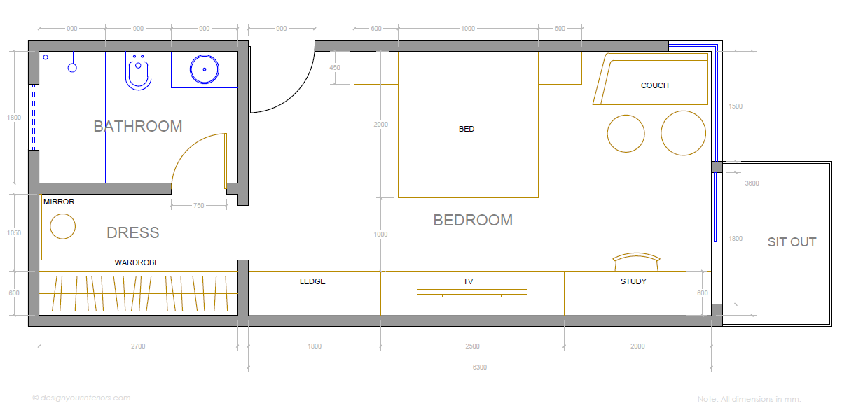Bedroom Layout Design Your Interiors Home