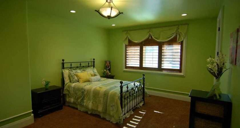 Bedroom Wonderful Ideas Lime Green Walls