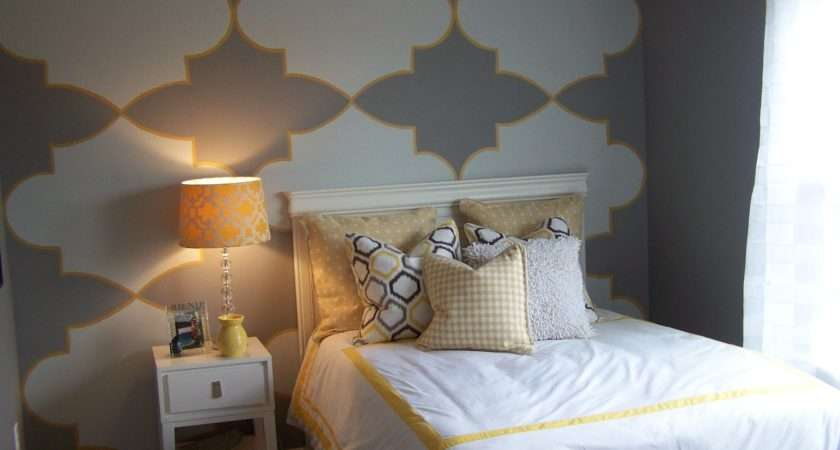 Bedsiana Along Gray Yellow Bedrooms Bedroom