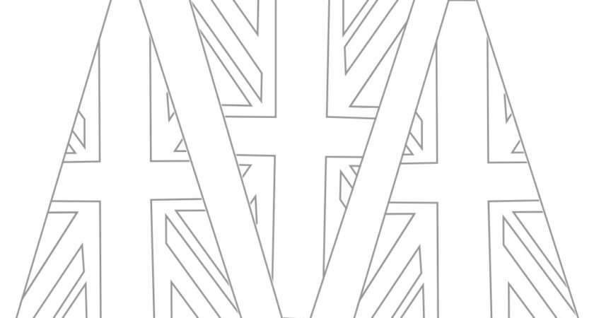 Beehive Bits Pieces Union Jack Bunting Template