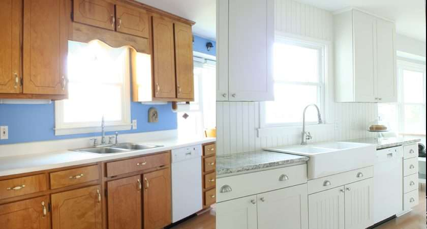 Before After Pics Kitchens Budget Home