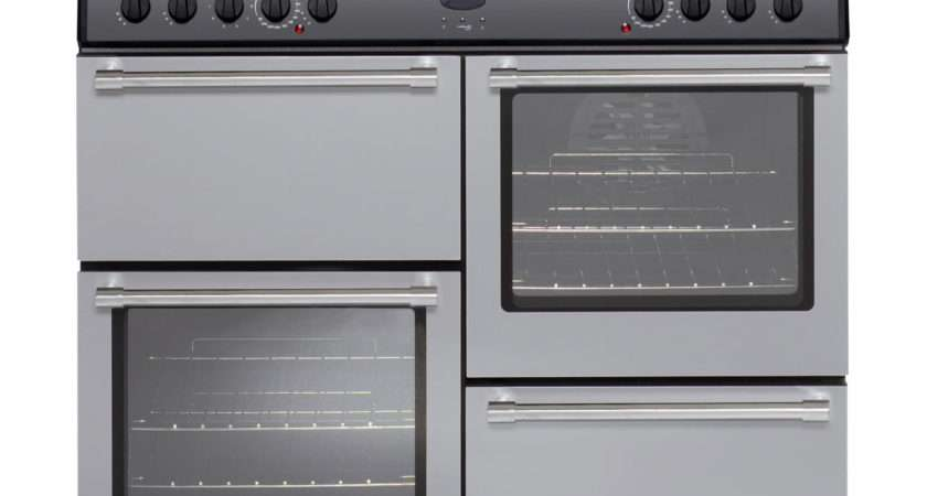 Belling Countryclassic Freestanding Electric Range Cooker Silver