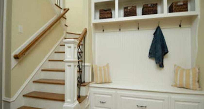 Bench Storage Entryway Green Shirts