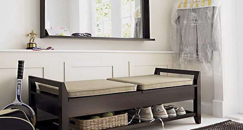 Benches Storage Entryway Shoes