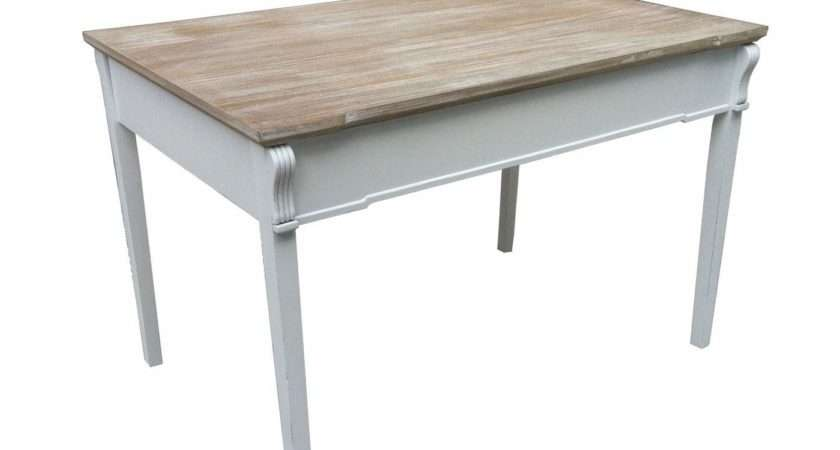 Bentley Home Shabby Chic Dining Table Charles