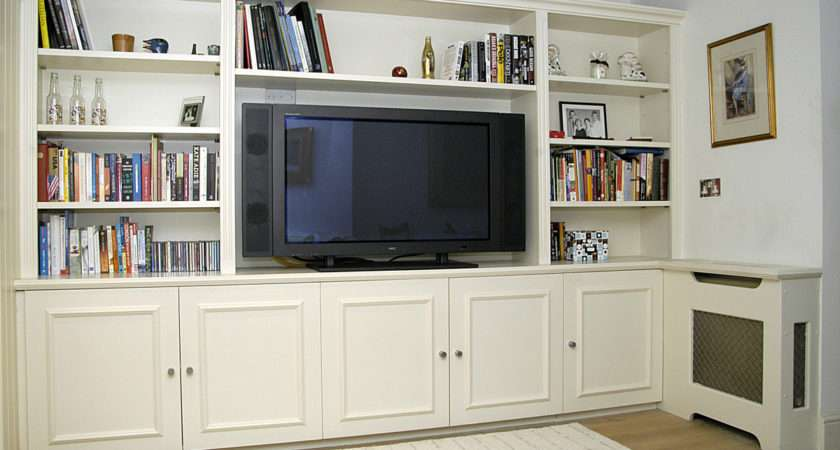 Bespoke Built Wall Units Entertainment