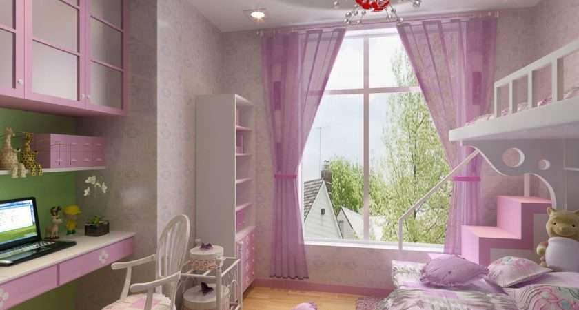 Best Modern Pink Girls Bedroom Theydesign