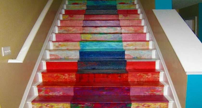 Best Painted Stairs Ideas Decorate