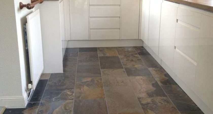 Best Slate Floor Tile Kitchen Ideas Diy Design Decor