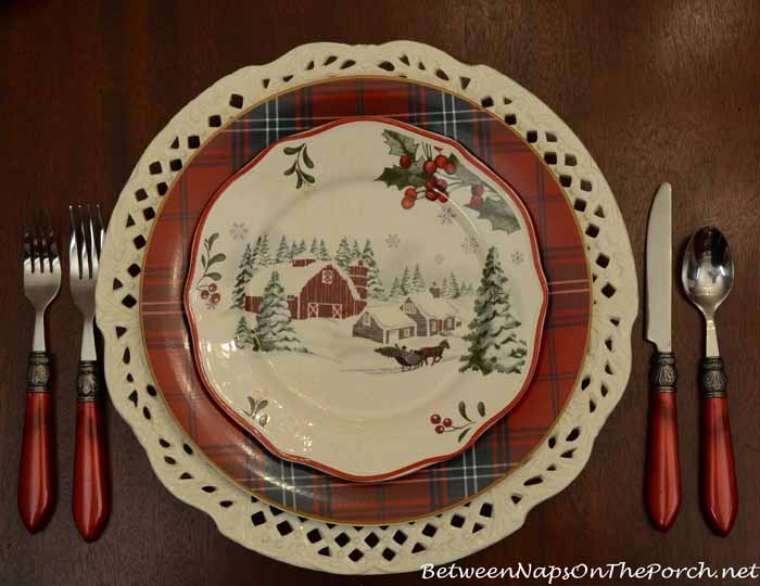 Better Homes Gardens Christmas Dinnerware Frompo